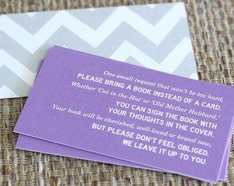 Book Instead Of Card Poem
