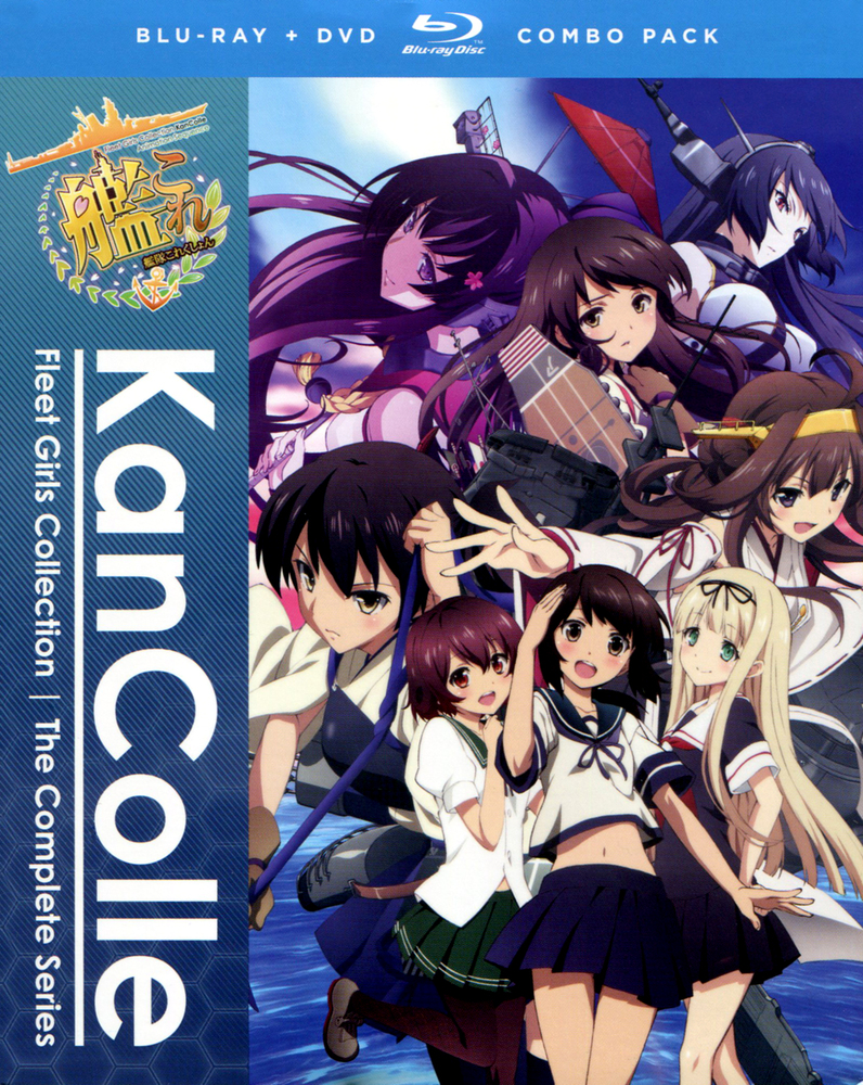 Kancolle Kantai Collection The Complete Series [Bluray
