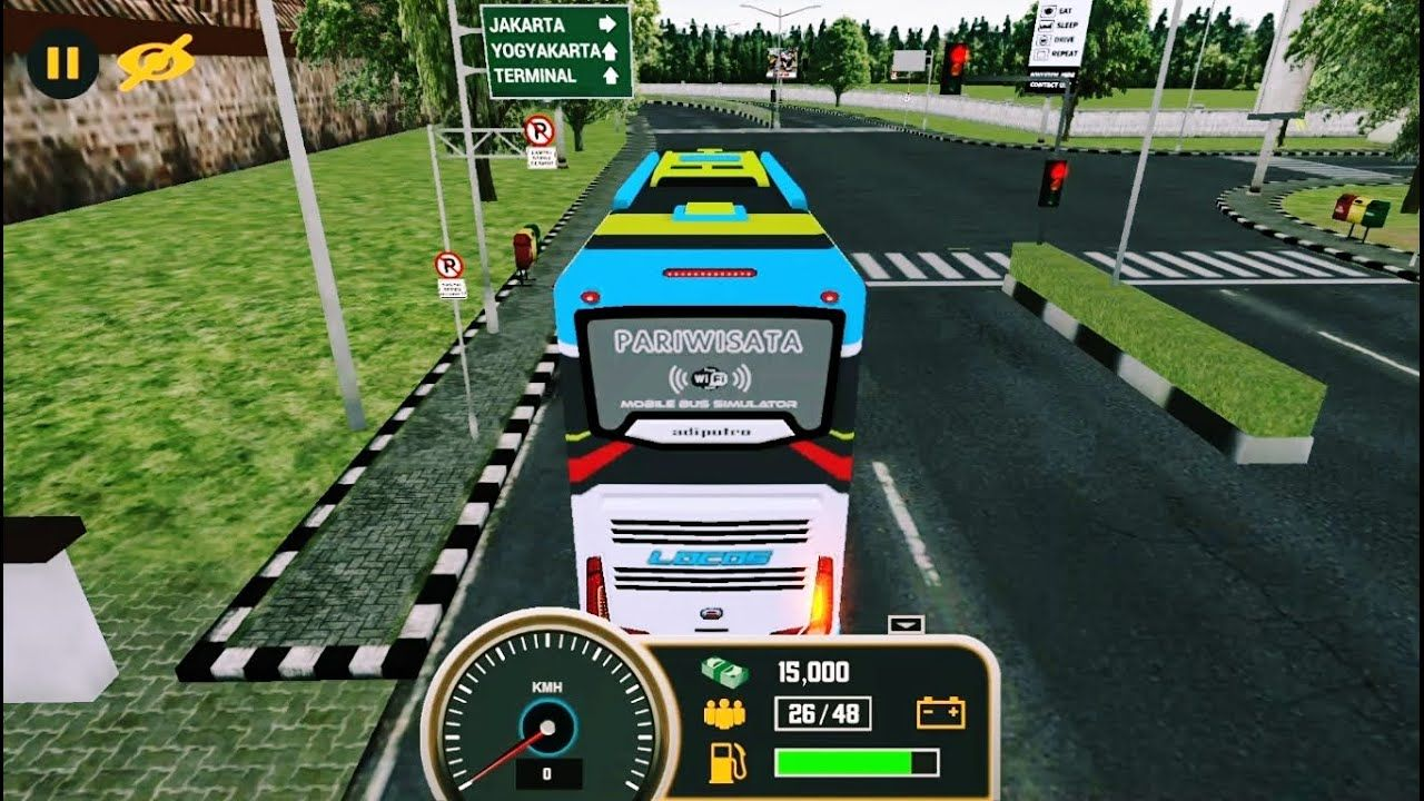 Mobile Bus Simulator Game Mainan Anak Laki Laki Kecil Permainan Mobil Mobilan Bus Android Anak Mainan Mainan Anak