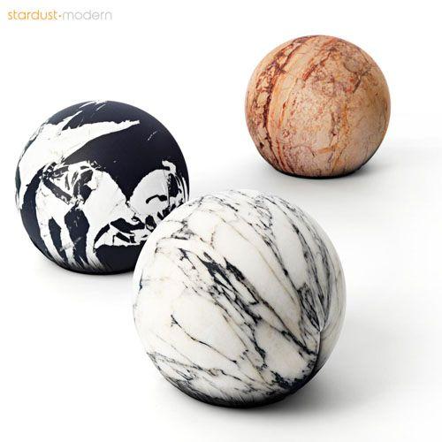 Cerruti Baleri Tato Tattoo Grande Antico Marble Pouf