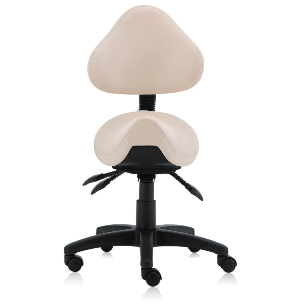 Saddle Shape Stool With Back Support And Tilt Able Seat In 2020