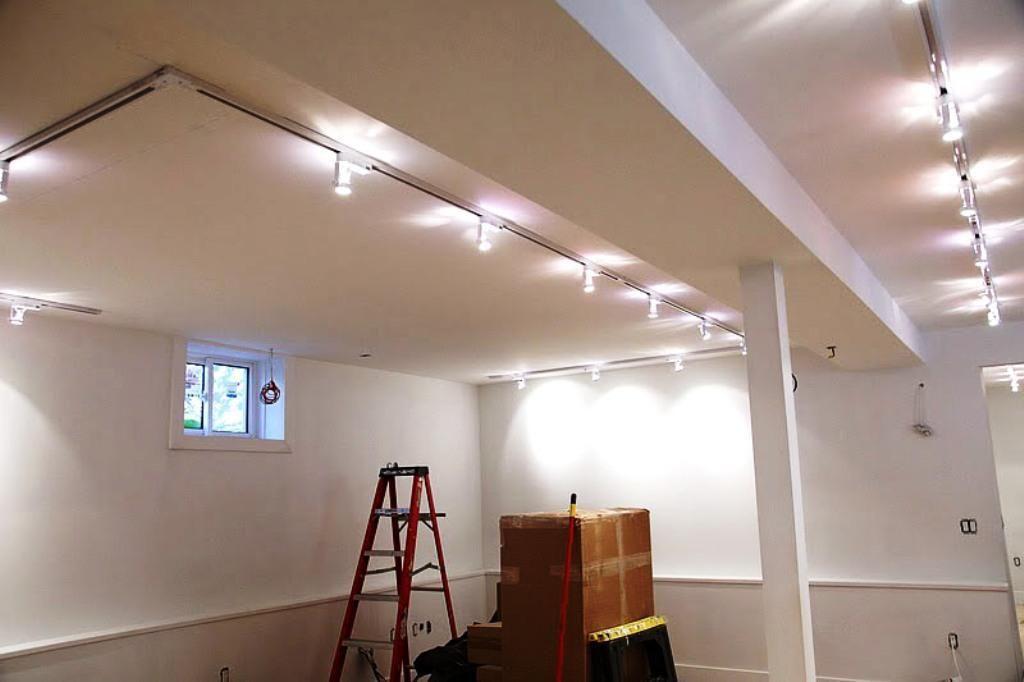 Basement Ceiling Lighting Basement Lighting Basement Light Fixtures Low Ceiling Lighting