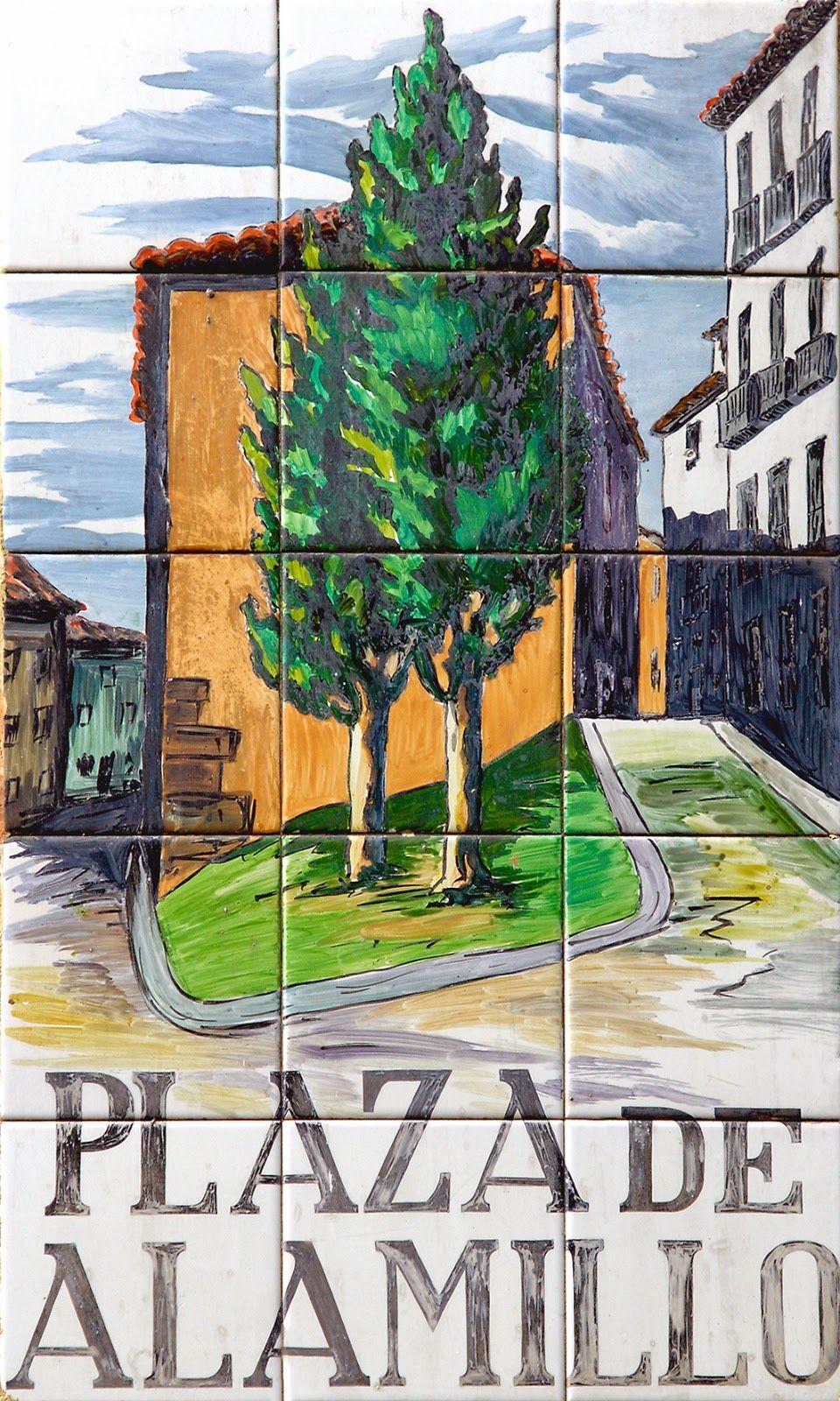 Plaza Del Alamillo Fotopaseopormadridcalles Calles De Madrid