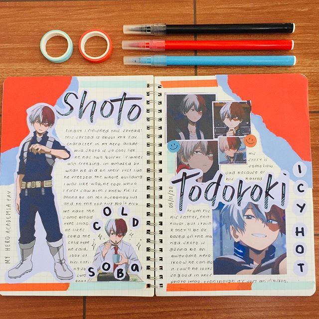 Pin By Anel Limon On Stationery In 2020 Anime Book Bullet Journal Books Bullet Journal Themes