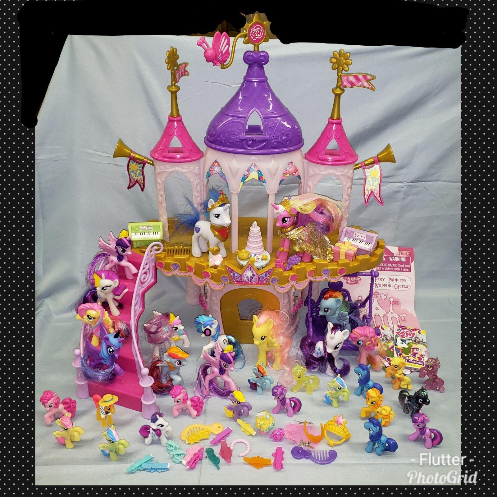 Huge Lot My Little Pony Wedding Castle Mercari In 2020 My Little Pony Poster My Little Pony Wallpaper My Little Pony