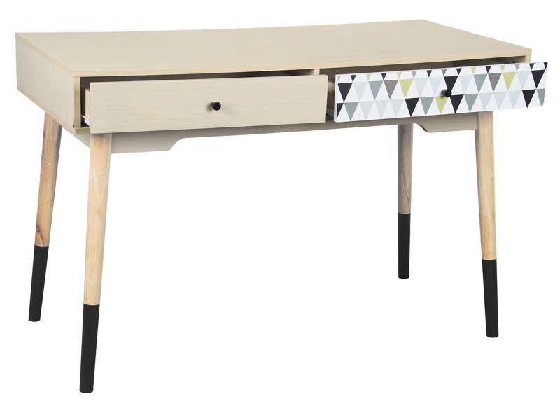 Bureau 120 cm Pinterest Bureaus - Conforama Tables De Cuisine