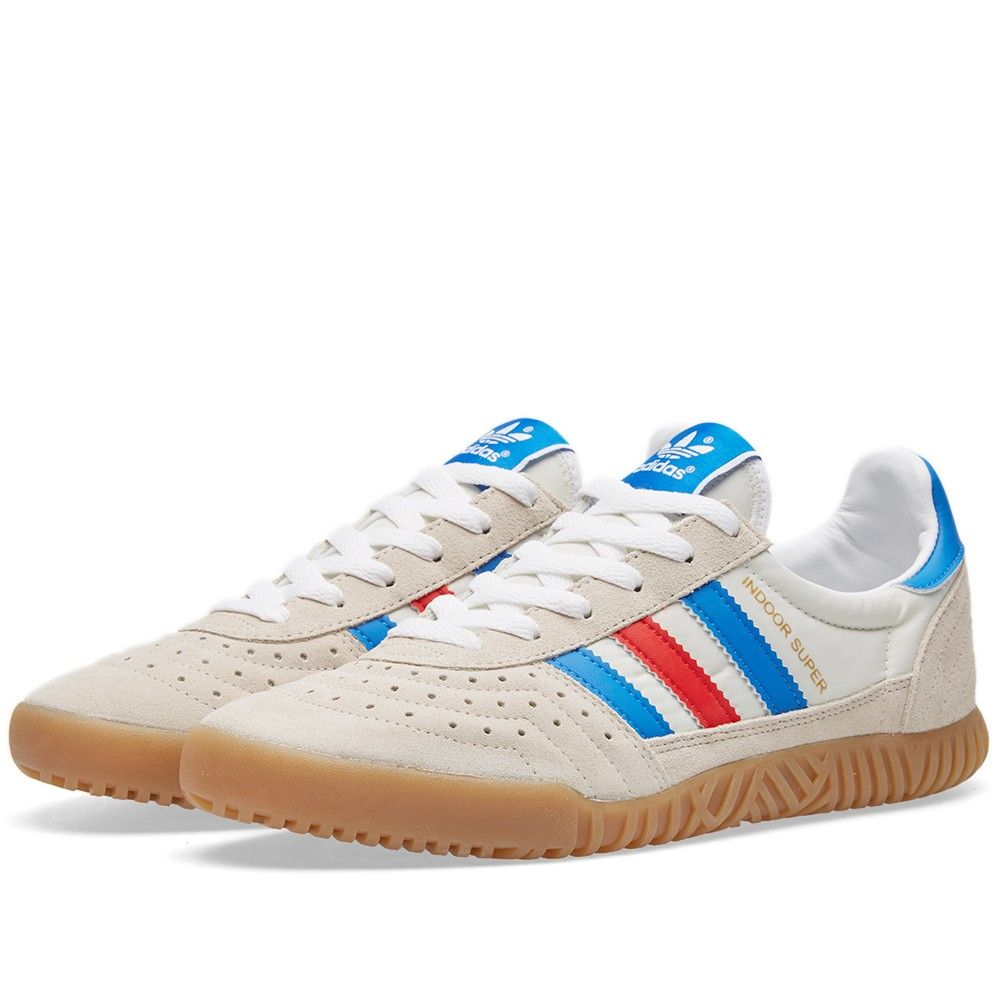 76a57bbd24f41f Adidas SPZL Indoor Super (Chalk White   Bright Royal)