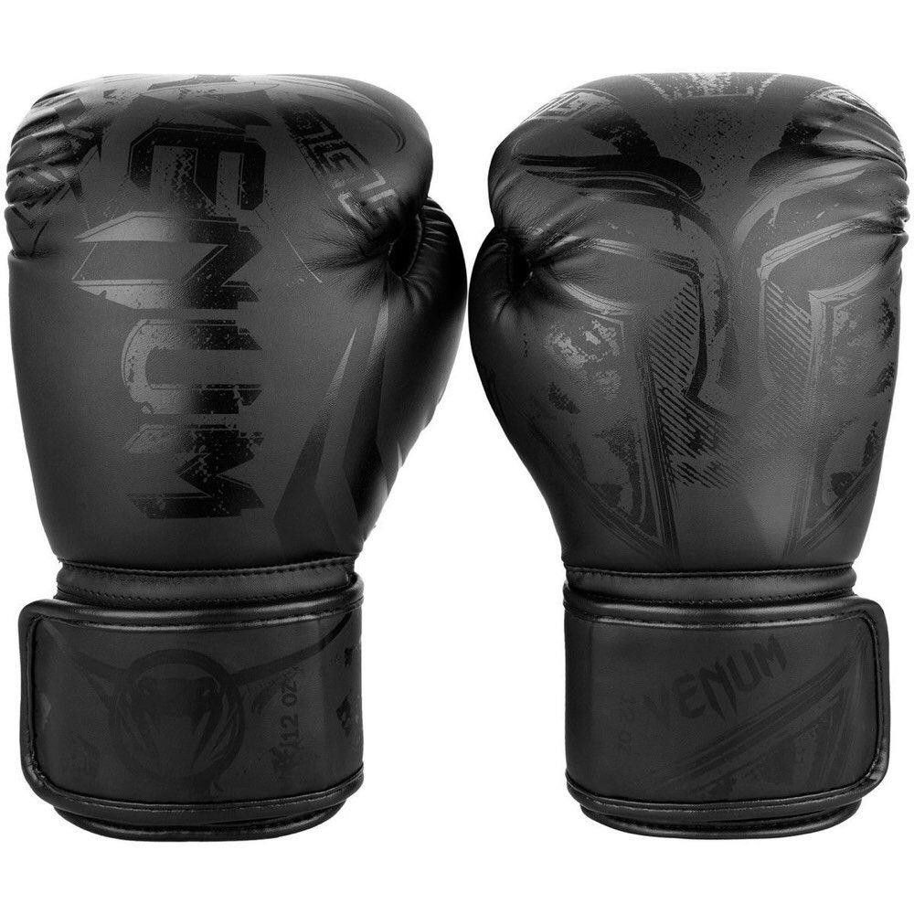 Venum Gladiator 3 0 Boxing Gloves Black Black Boxing Gloves Gloves Gladiator