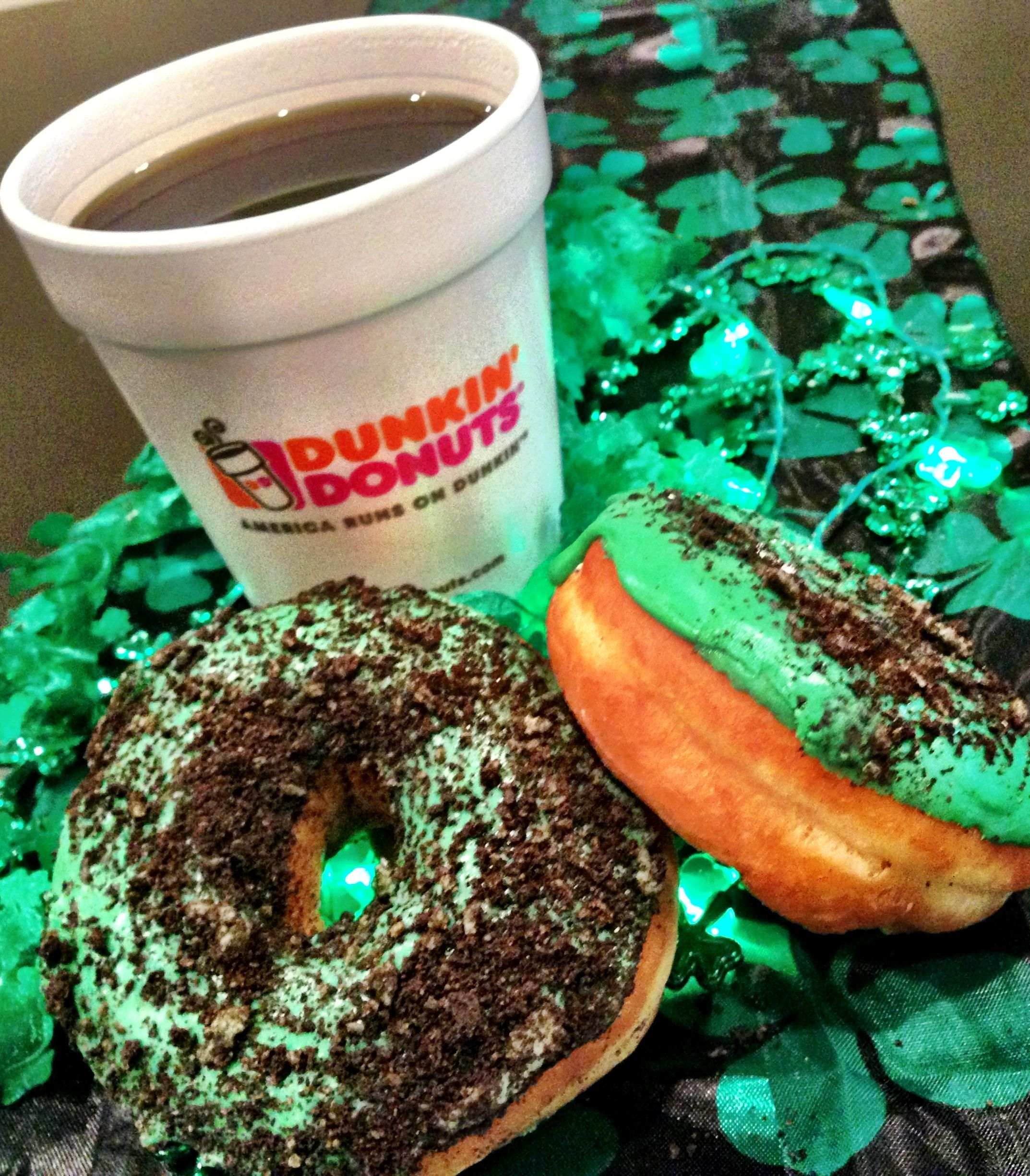 Who wants an Irish Creme Coffee toDDay? Chicago Dunkin