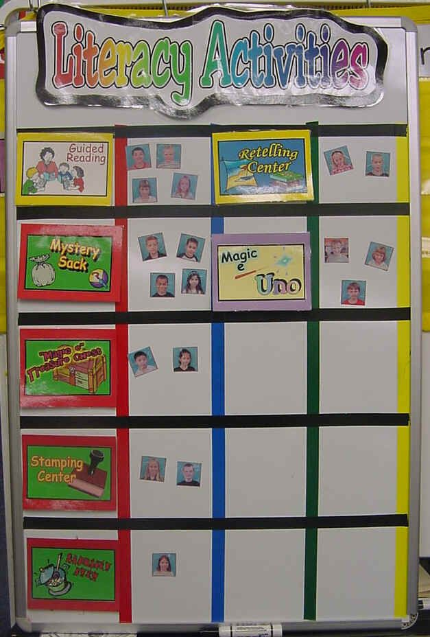 Classroom Rotation Ideas : Reading centers pinterest literacy
