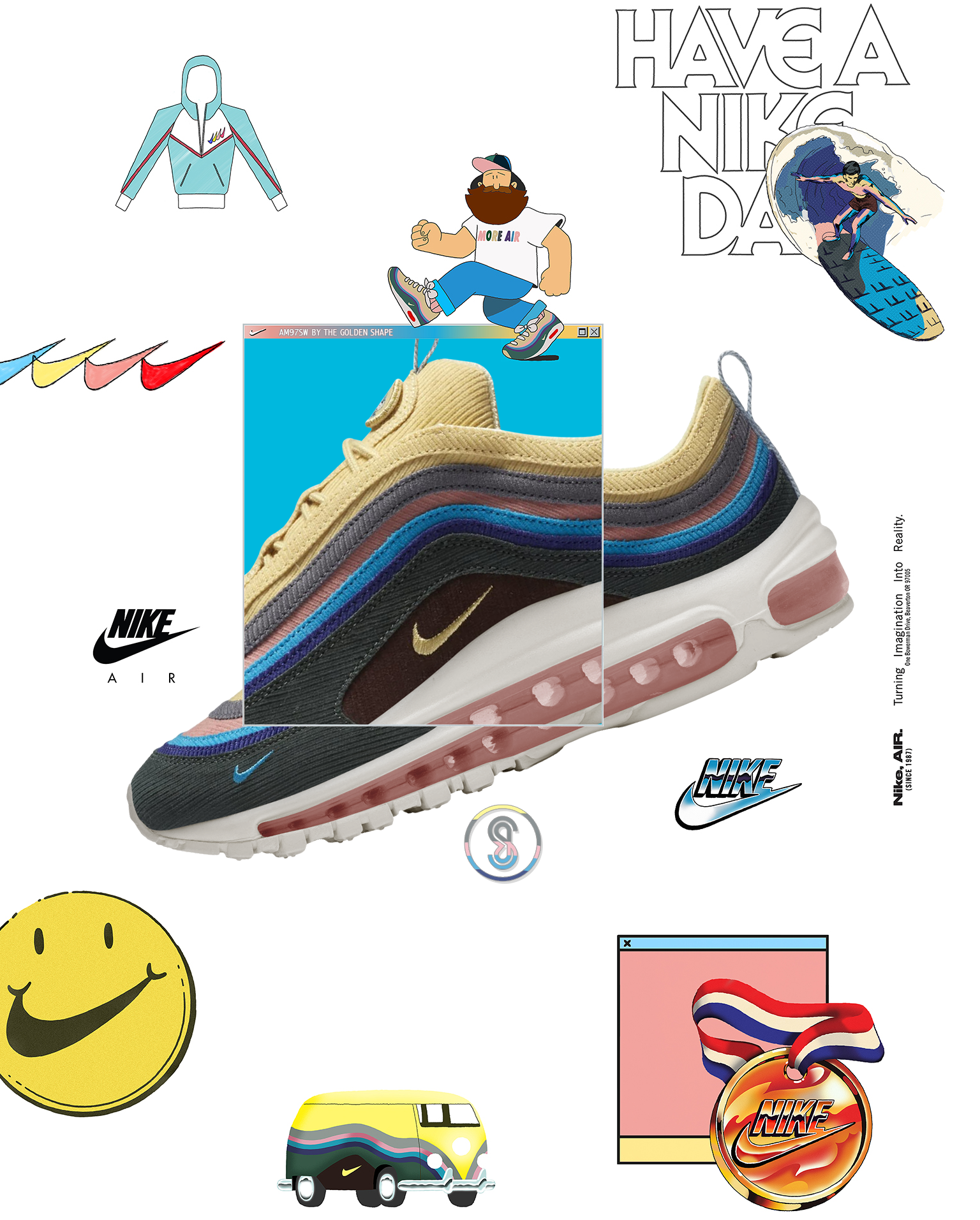 Nike Air Max 97 Sean Wotherspoon Air Max Day 2018  94c70d24c
