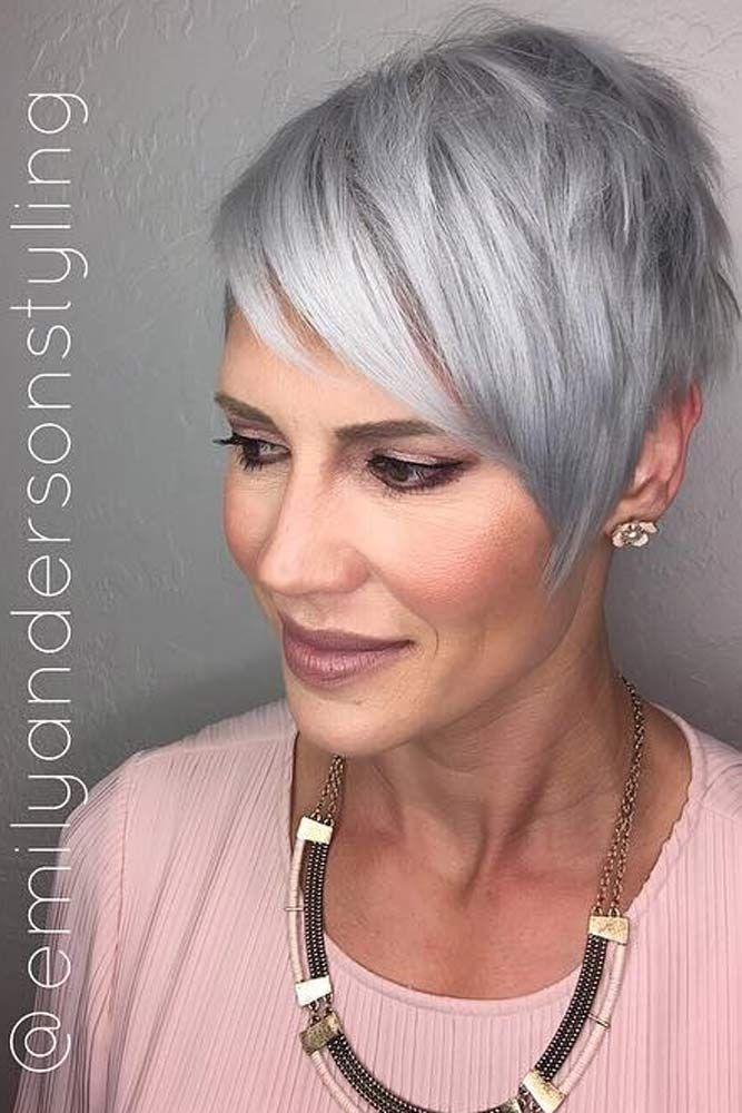 44 Stylish Short Hairstyles For Women Over 50 Fine Hair Short