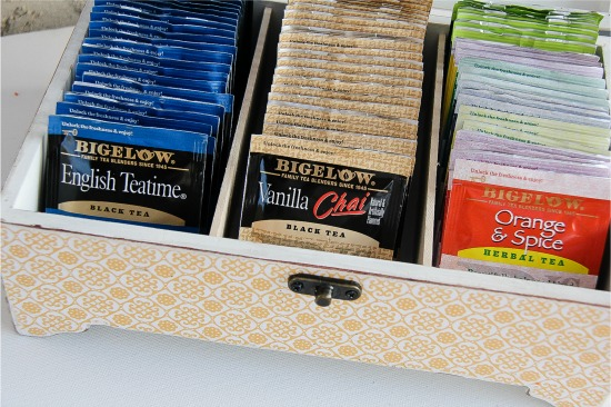 Diy Tea Storage Box Americastea Cbias