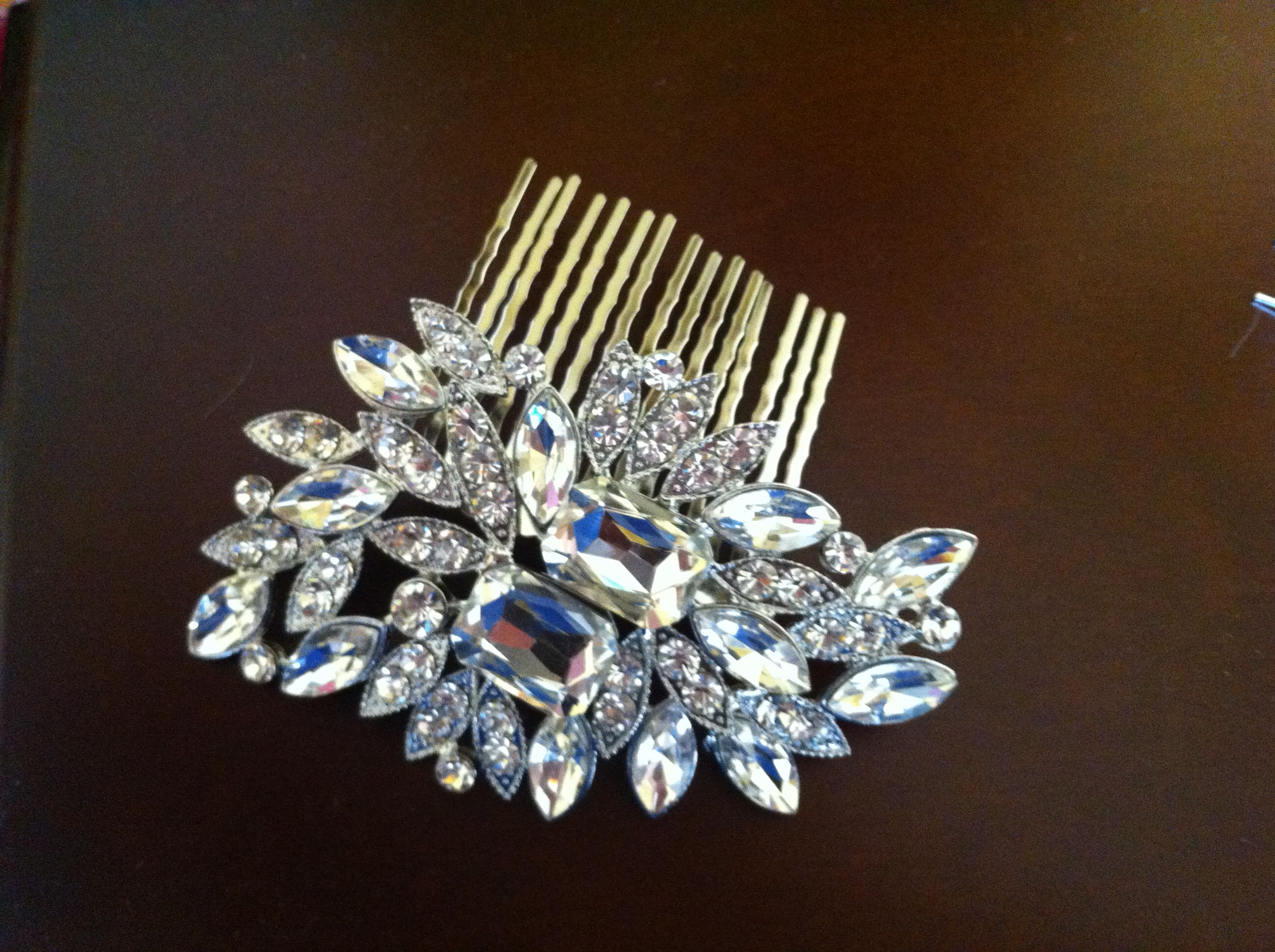 Crystal hair comb for any occasion hair accessories for all