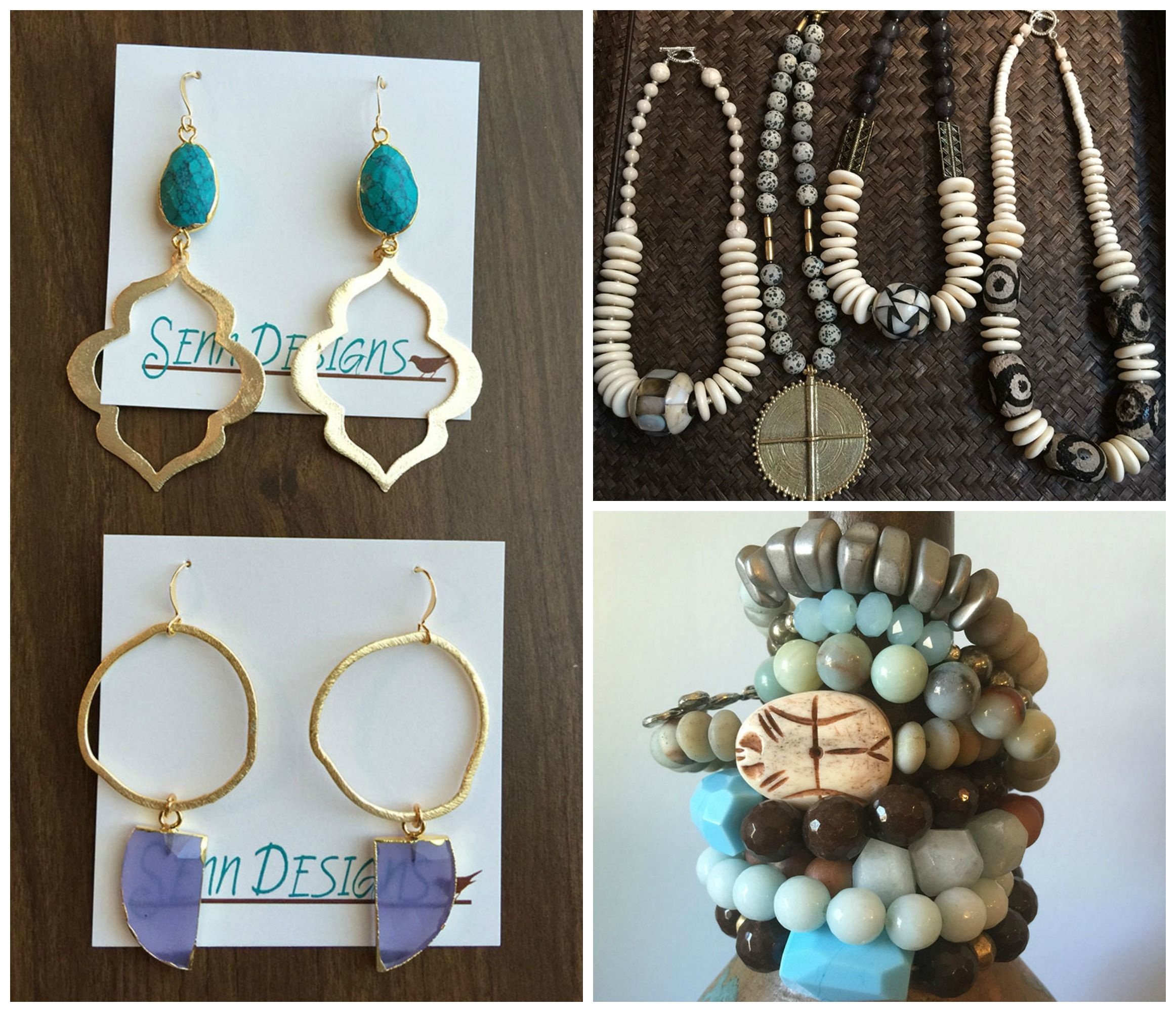 Are you a fan of handcrafted jewelry? Shop Senn Designs jewelry from