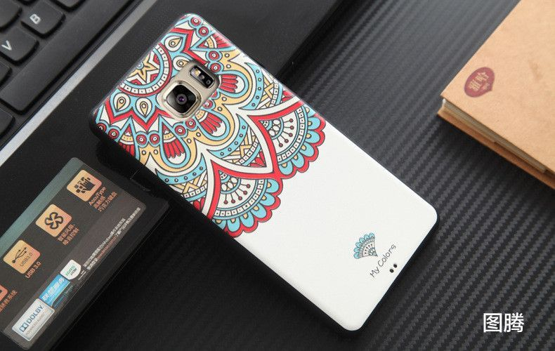 """New Fashion Cartoon 3D Relief Slim Case For Samsung galaxy note 7 Soft TPU Case Covers For Samsung Note 7 Accessories 5.7"""""""