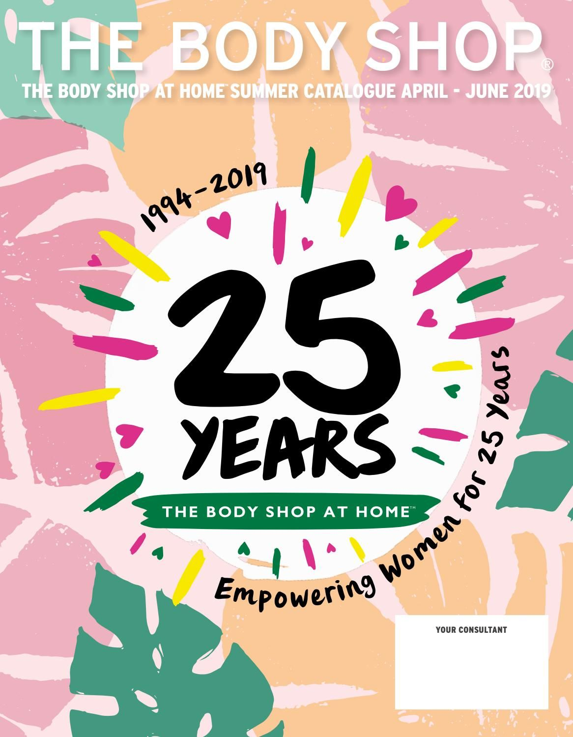 The Body Shop At Home Summer 2019 Catalogue | Sale in 2019