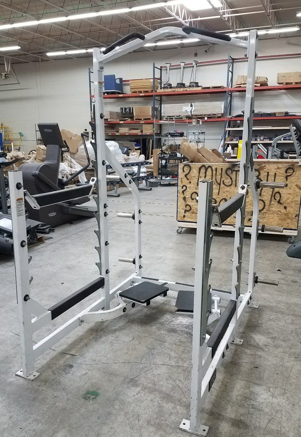 Used Hammer Strength Multi Squat Rack Work Out Wear Squat Rack Used Fitness Equipment Squats