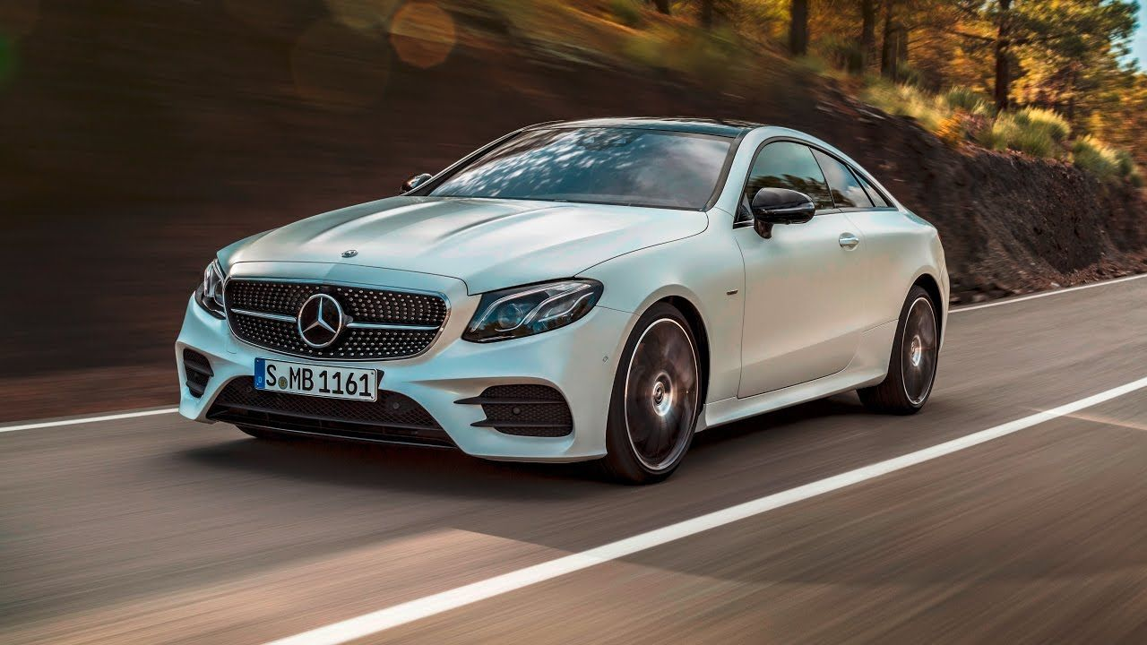A look at the upcoming redesigned 2018 e class coupe