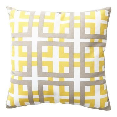 Rapee Windows Cushion Yellow 43 x 43 cm | Spotlight Australia