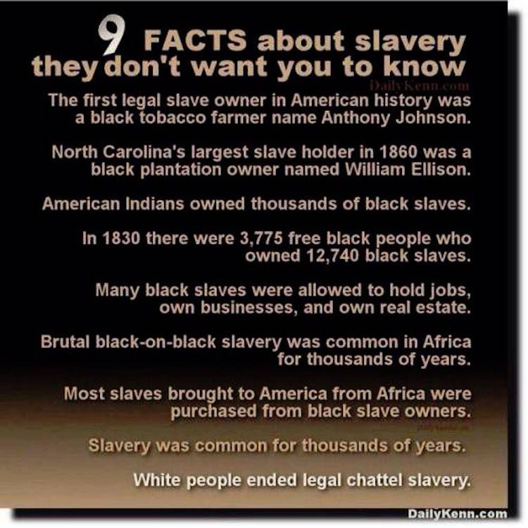 FACT CHECK: 9 Facts About Slavery They Don\'t Want You to Know ...