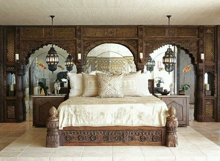 Indian Inspired Bedrooms   Google Search