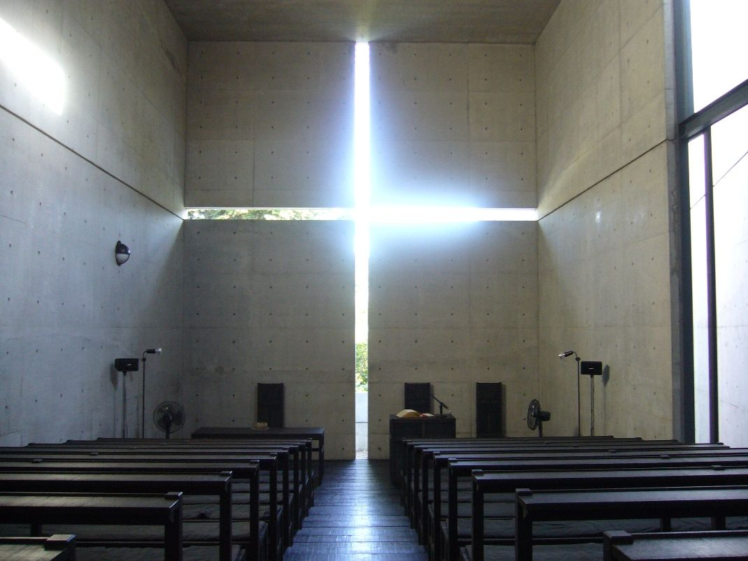 The Role Of Light In Architecture Church Of Light Light Architecture Tadao Ando