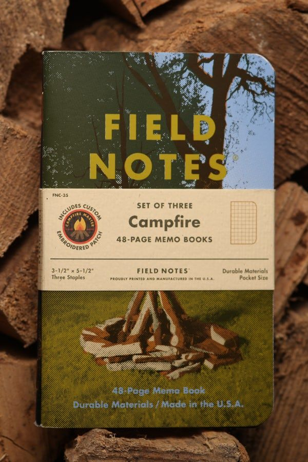 Campfire Field Notes Field Notes and Journaling Pinterest