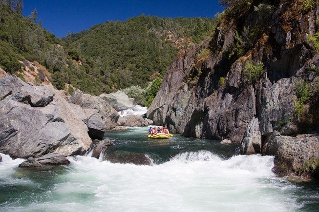California Rafting: Middle Fork American River