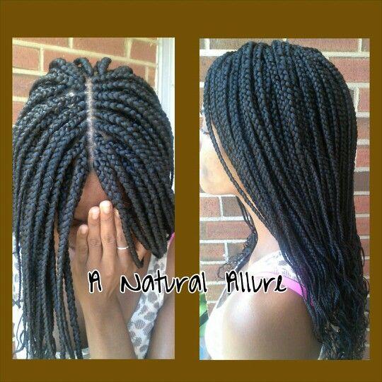19+ Mid back box braids trends