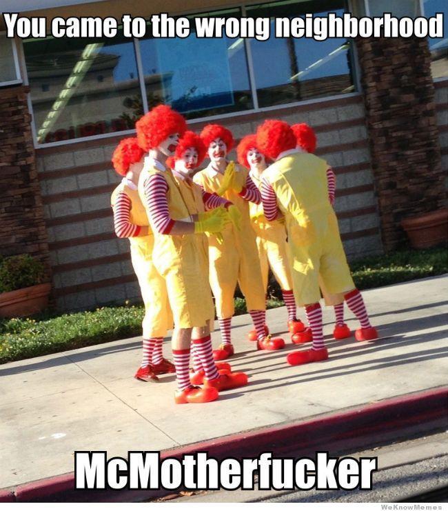 I'll give you a Big Mac!!