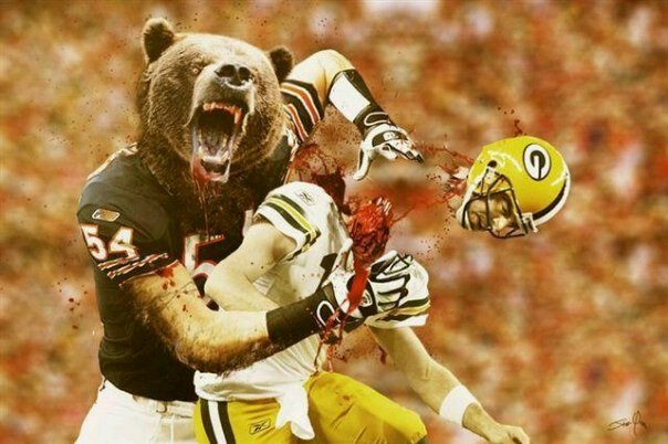 Packer Jokes From Bears Fan Oooooohhhh Chicago Bears Football Packers Vs Bears Chicago Sports