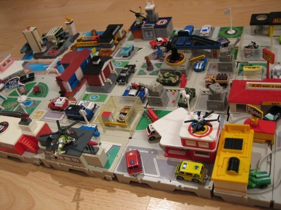 Micro Machines Huge Travel City Boxes Collection