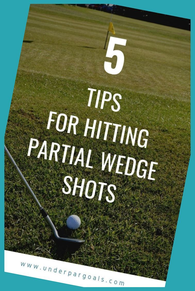 How to hit a wedge shot 50 to 75 yards golf drills