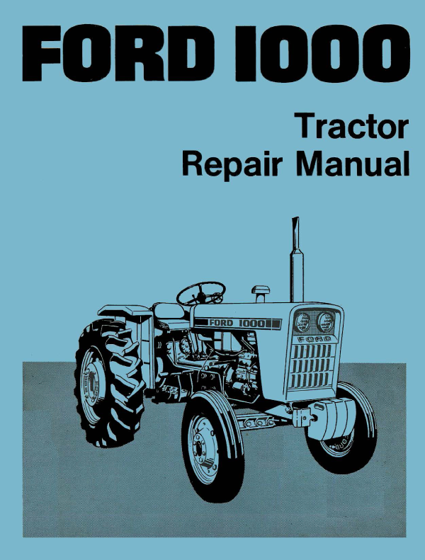 ford 1000 tractor repair manual pinterest repair manuals rh pinterest com 2005 Ford Freestar Owners Manual PDF ford lynx service manual pdf