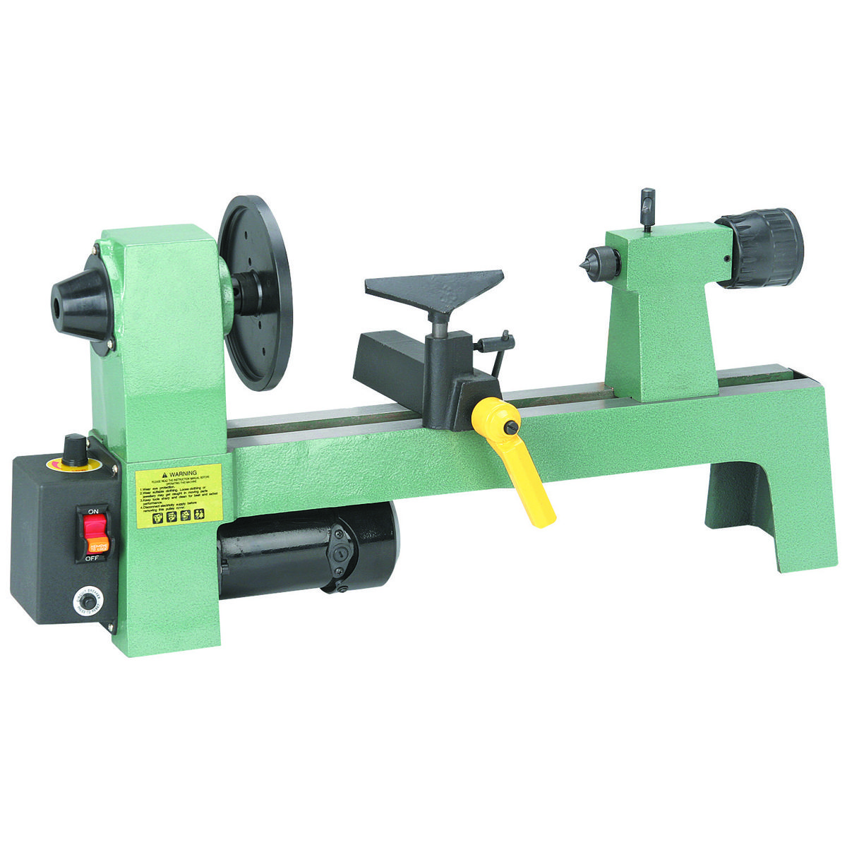 8 in x 12 in 1 3 hp benchtop wood lathe home improvement