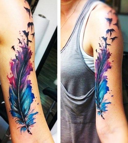 Pin By April Robbins On Tatts Tattoo Ideen Feder Tattoo Tattoo