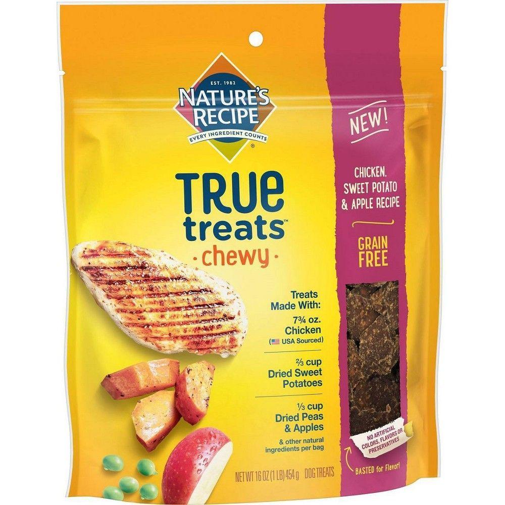 Nature S Recipe True Treats Basted Bites Chicken 16oz Sweet