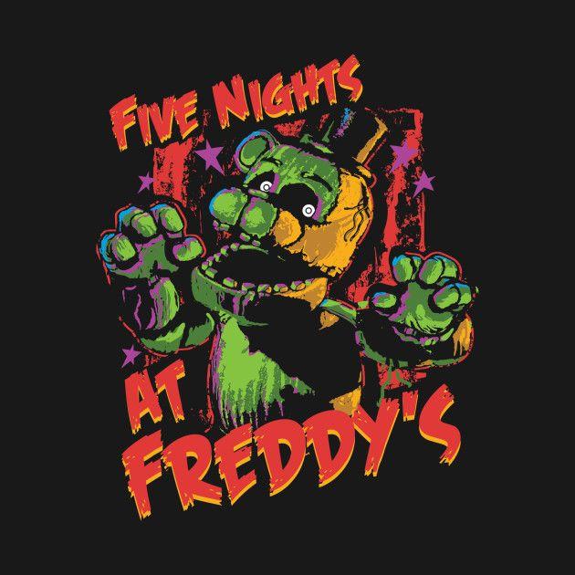 Check Out This Awesome U0027Five+Nights+At+Freddy%27s+Phantom+Freddyu0027 Design On  @TeePublic!
