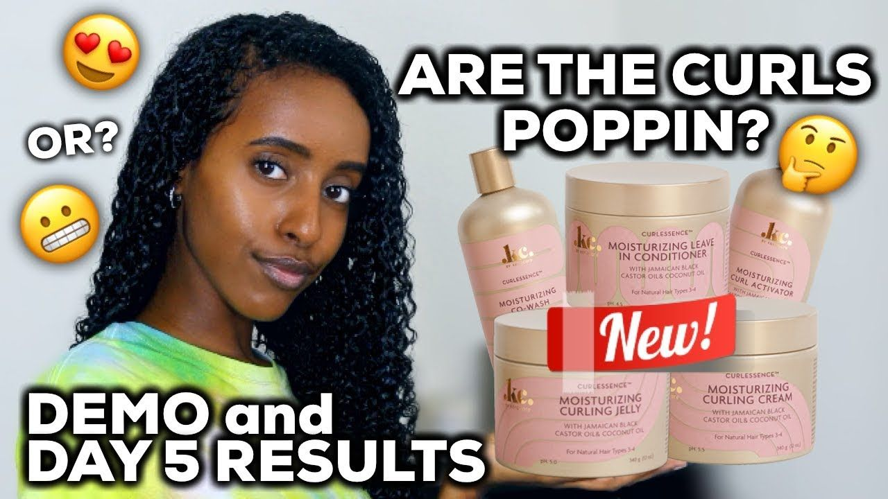 Natural Curly Hair Routine W New Keracare Curl Essence Line