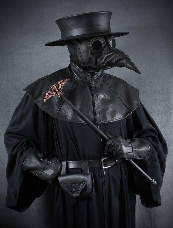 Medieval Peste Doctor Masque doiseau Plage Docteur D/éguisement dHalloween Cosplay Steampunk R/étro Heavy Metal Rock Scary Mask Pico pour d/éguisement f/ête