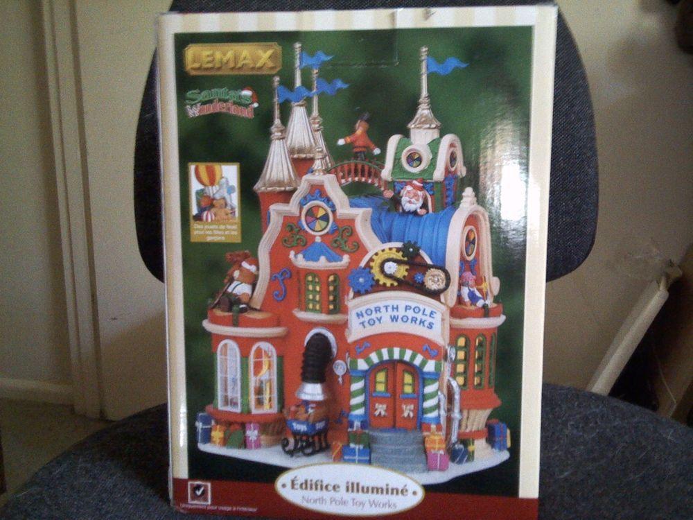 Lemax Santa's Wonderland, North Pole Toy Works, Lighted