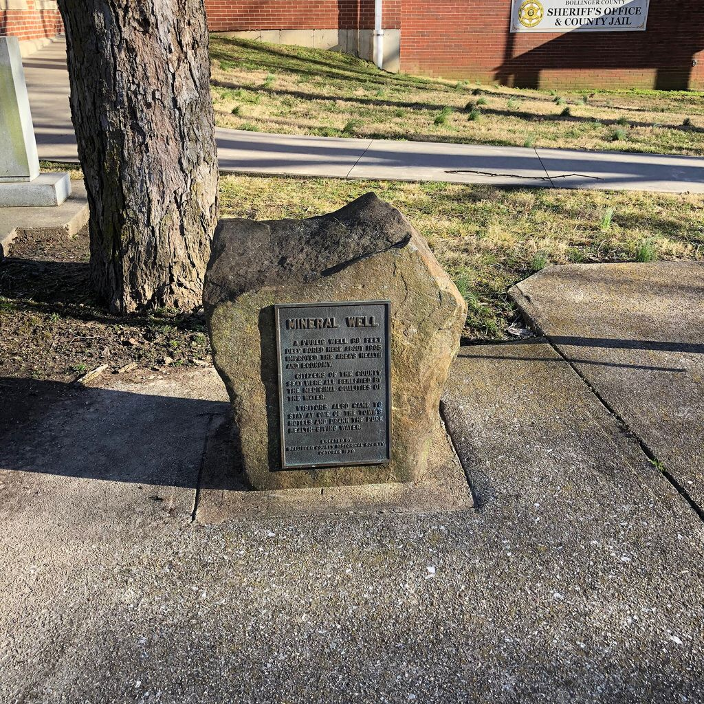 Historic Marker Mineral Water Marble Hill Missouri Paul Chandler February 2019 Marble Hill Historical Marker Historical