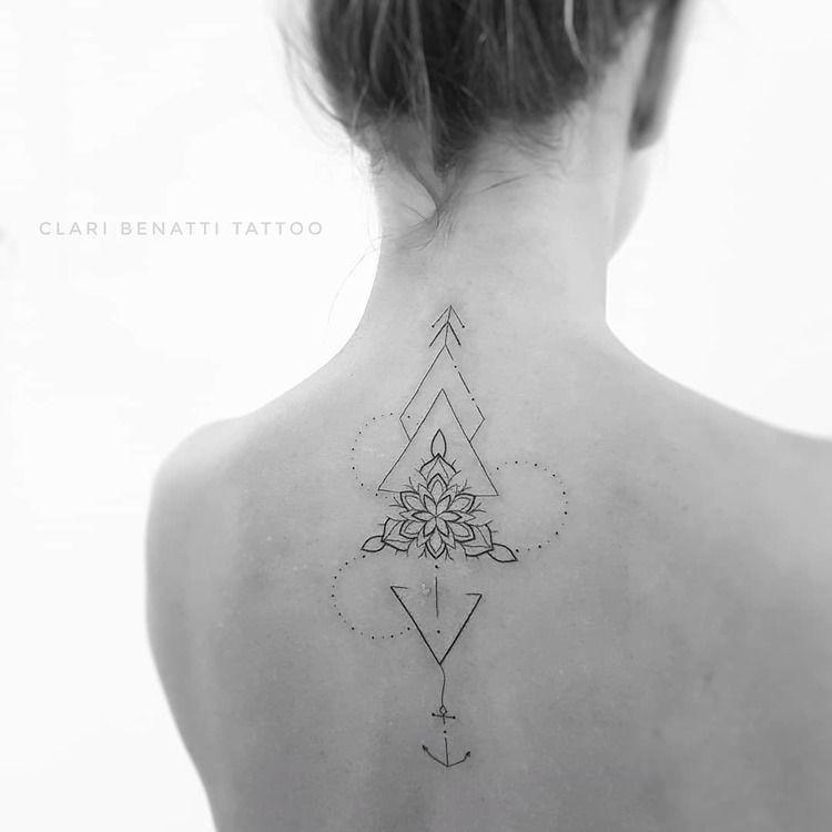 40 Beautiful Ornamental Tattoo Designs by Clari Benatti | TattooAdore