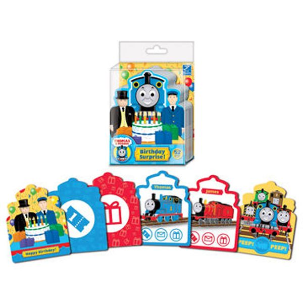 Thomas And Friends Birthday Surprise Card Game