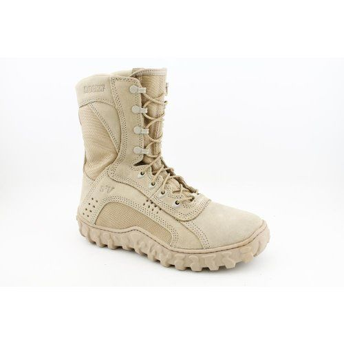 Rocky FQ0000103 Mens S2V Vented Military/Duty Boot: Shoes