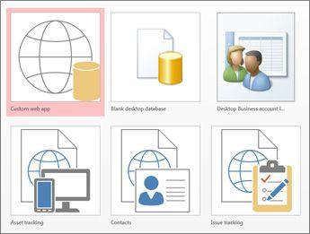 Basic tasks for an Access desktop database | Business