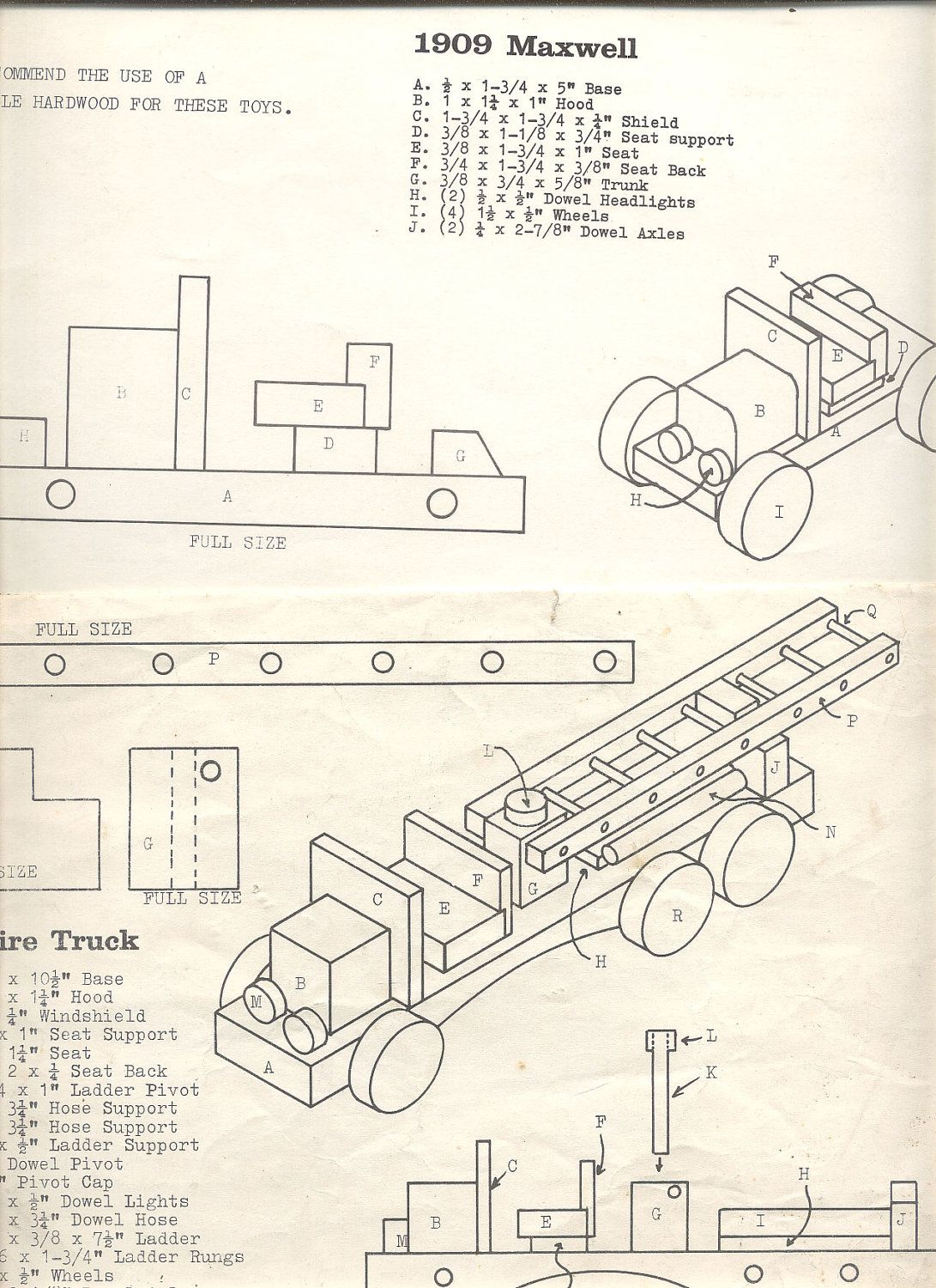 vintage wooden toy plans - bing images | occ shoebox