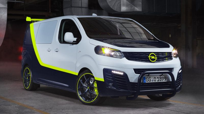 A Team Van Reimagined In Opel O Team Zafira Life In 2020 A Team Van Opel Concept Cars