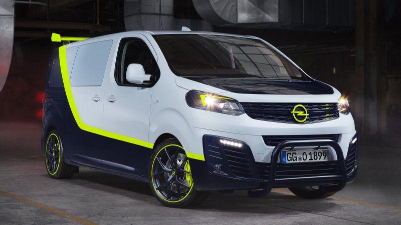 A Team Van Reimagined In Opel O Team Zafira Life A Team Van Opel Mini Van